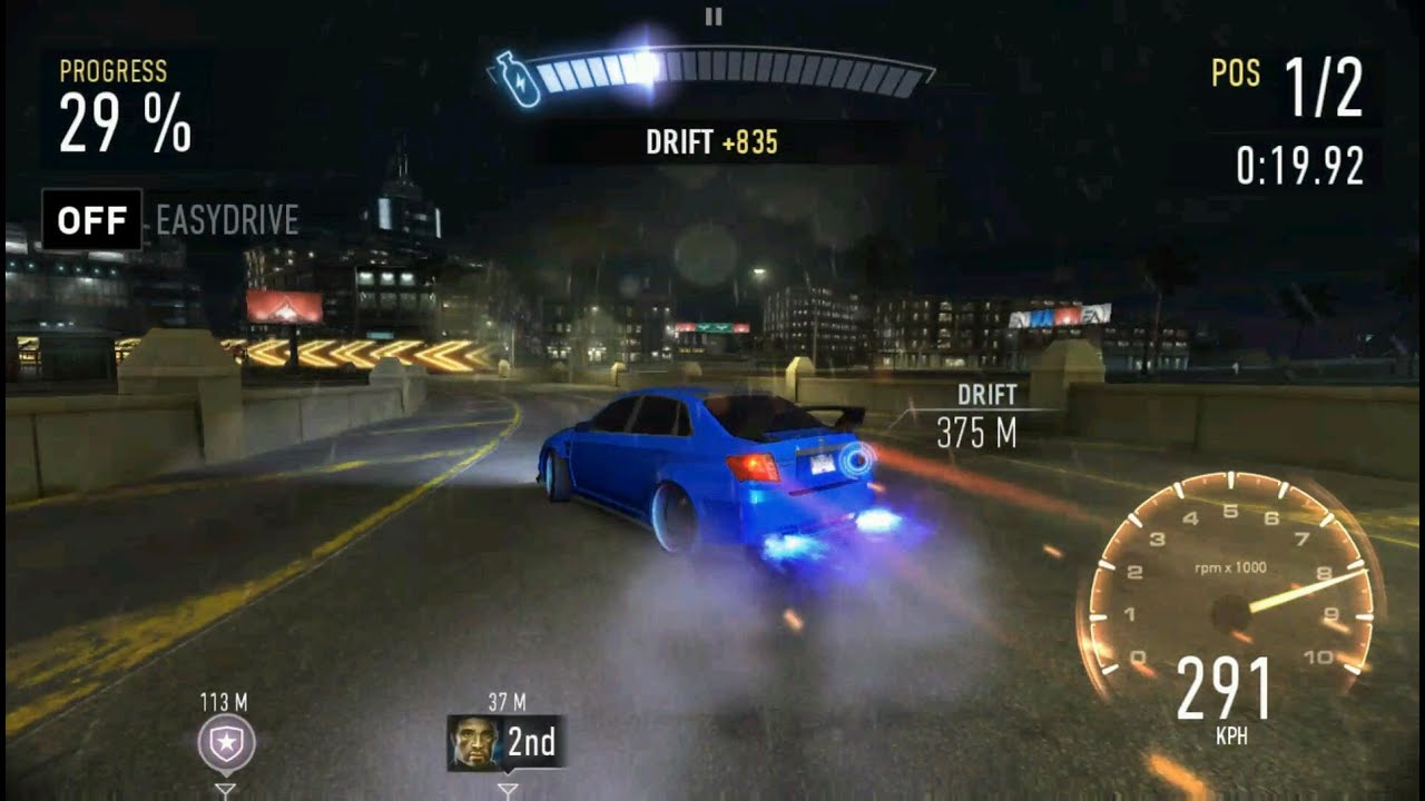 Need for speed no limits drift gameplay android youtube for Need for speed android