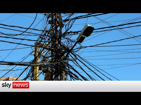 Total power outage in Lebanon as grid shuts down