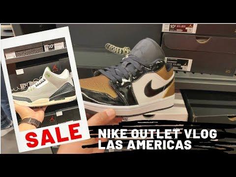 Pasado telegrama traqueteo  Nike Factory Store Vlog - Las Americas Premium Outlet - San Ysidro -  Jordans I Cortez I Lebron - YouTube