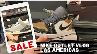 litro sal Leia  Nike Factory Store Vlog - Las Americas Premium Outlet - San Ysidro -  Jordans I Cortez I Lebron - YouTube