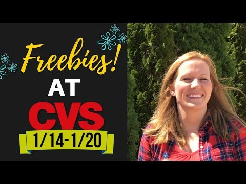 CVS Couponing Weekly Video (1/14-1/20) Great Deals on Hair Care, Makeup, Razors & FREEBIES!