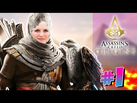 NYT EVENTYR! DANSK Assassin's Creed Origins Let's Play med Jørgen og Nathalie