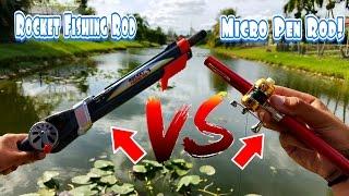 Fishing With Micro Pen Fishing Rod & Rocket Fishing Rod thumbnail