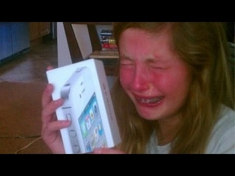 Kids react to presents and gifts - Fail compilation