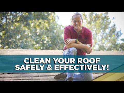 How to Clean Your Roof Safely and Effectively