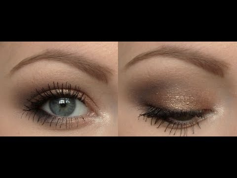 Getting Ready ♡ Coppery-Bronze Eyes - YouTube