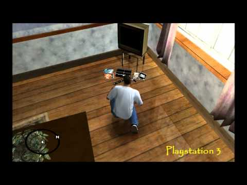 gta san andreas playstation 3 mod youtube. Black Bedroom Furniture Sets. Home Design Ideas