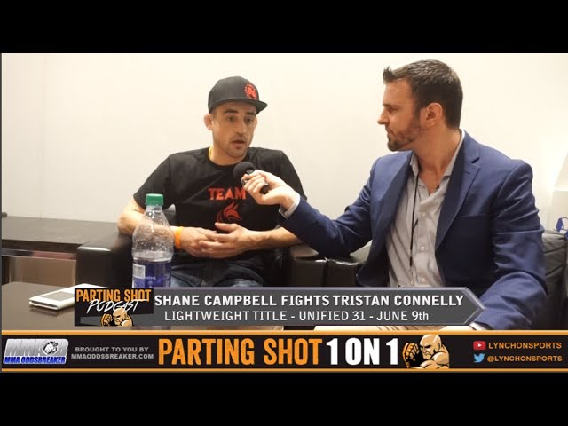 UFC vet Shane Campbell talks Unified MMA lightweight title shot on June 9th