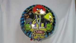 видео Шар музыкальный Angry Birds