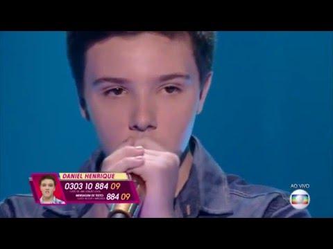 Daniel Henrique canta 'Sem Radar' no The Voice Kids - Semifinal|Temporada 1