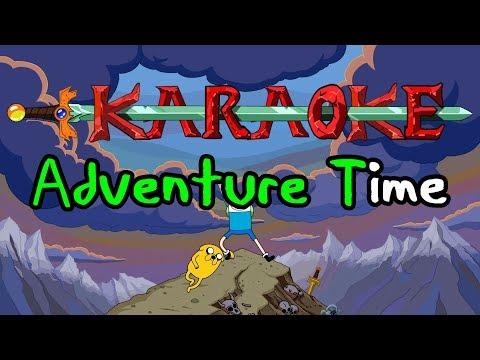 Adventure Time Intro  Karaoke