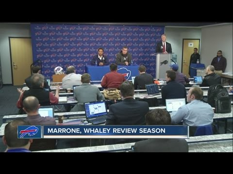 Bills Whaley and Marrone surprised by Orton retirement, discuss future
