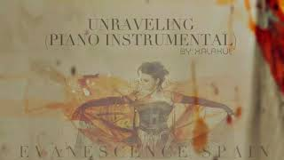 Evanescence - Unraveling (Piano Instrumental) [HD 720p]