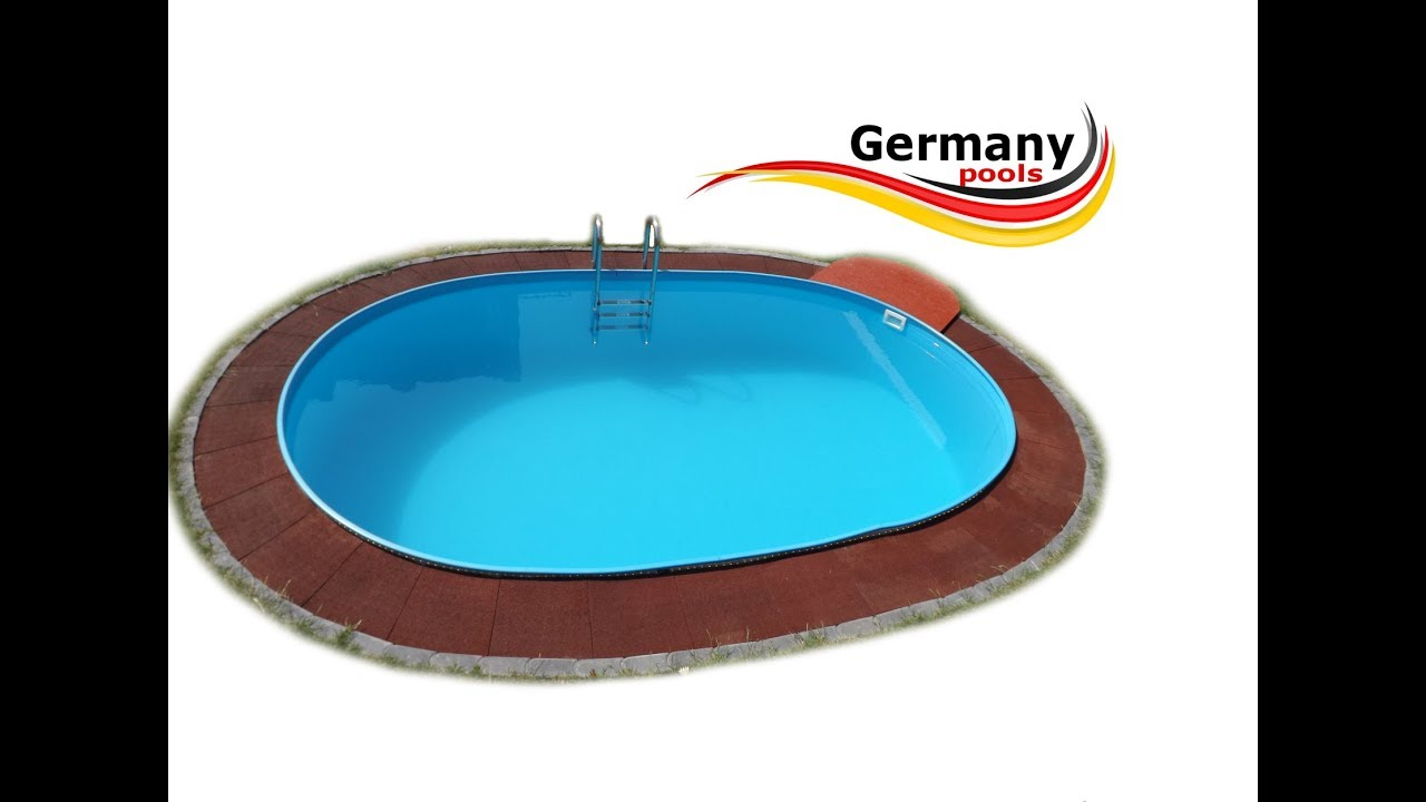 Pool Garten Stabil Ovalbecken Ovalpool Stahlwandpool Oval Germany Pools