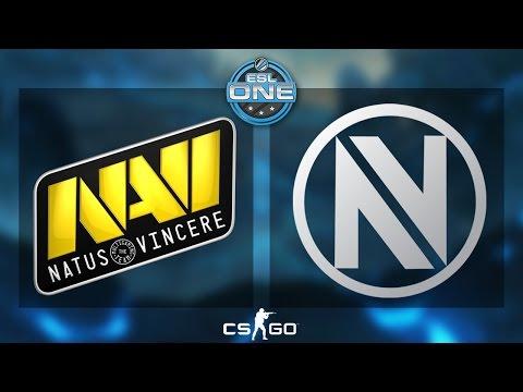 Na'Vi vs EnVyUs - ESL One Katowice - de_cobblestone