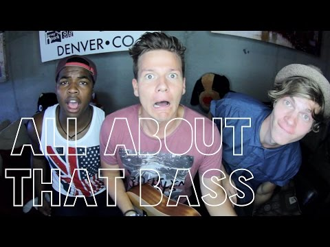 All About That Bass Guy  - Tyler Ward & Two Worlds Acoustic Cover -