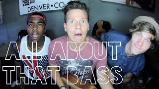 All About That Bass (Guy Version) - Tyler Ward & Two Worlds (Acoustic Cover) - Music Video