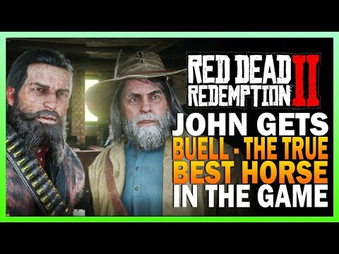 John Gets Buell, The Best Horse In RDR2 - Red Dead Redemption 2 Hamish Side Mission thumbnail