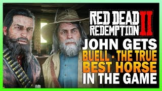 John Gets Buell, The Best Horse In RDR2 - Red Dead Redemption 2 Hamish Side Mission