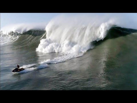 Surfer Almost Gets Crushed By Giant Wave