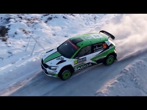 Pontus Tidemand – FIA World Rally Championship 2017 WRC 2 Champion | Skoda
