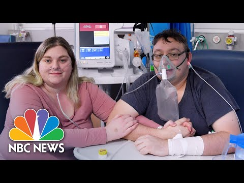 U.K. Couple With Severe Covid Cases Marry In Hospital | NBC News NOW