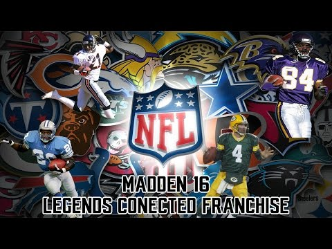 Madden 16 Legends Connected Franchise - A Team is Born! (The Draft)