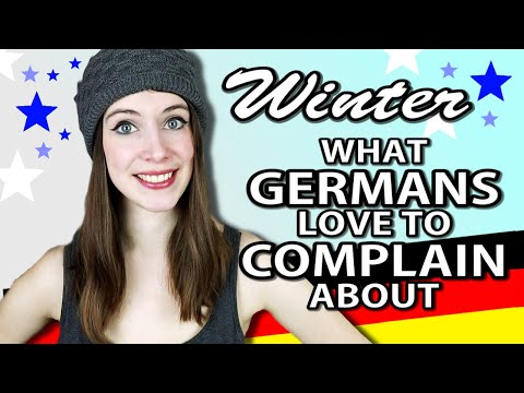 What Germans COMPLAIN ABOUT IN WINTER