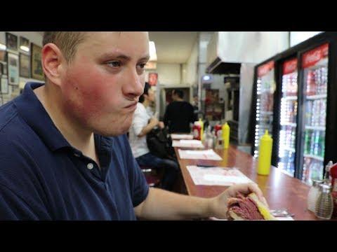 IS IT THE BEST SANDWICH IN MONTREAL?  Schwartz's Deli