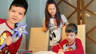 волшебная палочка, Денис и его Двойник