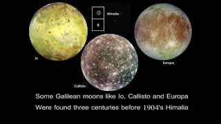 Modern Major Moons