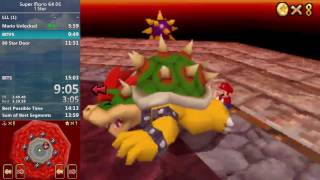 [World Record] Super Mario 64 DS 1 Star (Any%) in 14:07