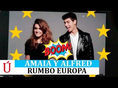 Amaia y Alfred cierran una gira Europea antes de Eurovision 2018 OT2017