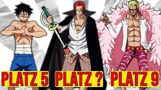 WER hat das STÄRKSTE KÖNIGSHAKI aus One Piece ? [TOPLISTE]