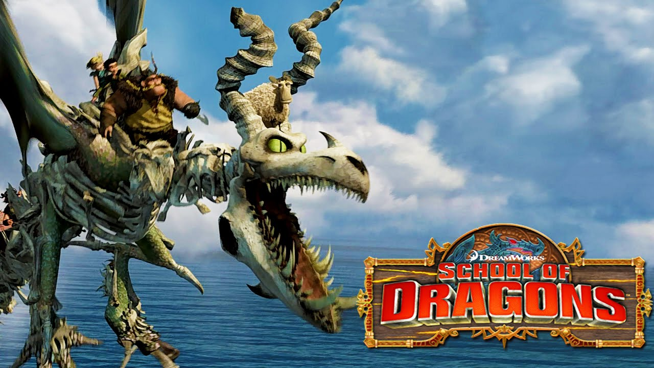 How to Train Your Dragon : School of Dragons #14 ...