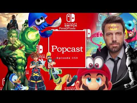 Half Life 3 Prototypes, Ben Affleck's back and forth Batman movie and the Switch Event - Episode 059