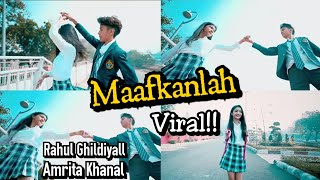 Viral | lagu Maafkanlah |@rahulghildiyall@its_amritakhal |Bikin Baper!!❤️Earth entertainment channel