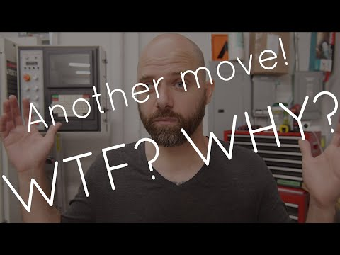 I moved workshop again... WHAT?? WHY? (March 2020)