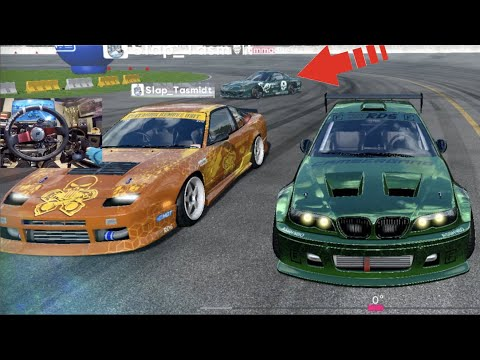 RDS Russian Drift Series - SLAP Vs SLAP + HE MADE NFS PROSTREETS PAINT!!