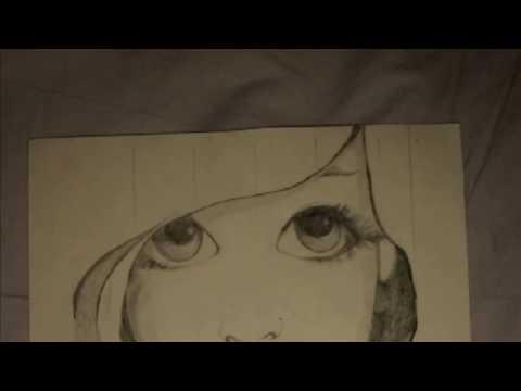 Disegno Eseguito Da Una Bambina Di 9 Anni Youtube