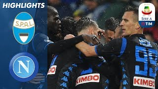 SPAL 1-2 Napoli | Late Goal by Mário Rui Saves the Day for Napoli | Serie A