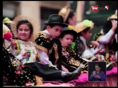 Detalles del tradicional Pase del Niño Viajero - Cuenca