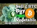 [ My Online Income ] 💰Sell 2 Btc & Buy Beautiful Vegetable Farm  |🔥🔥 Dreams Comes True.
