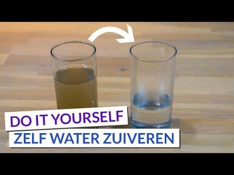 Water zuiveren | Van slootwater naar drinkwater | DIY