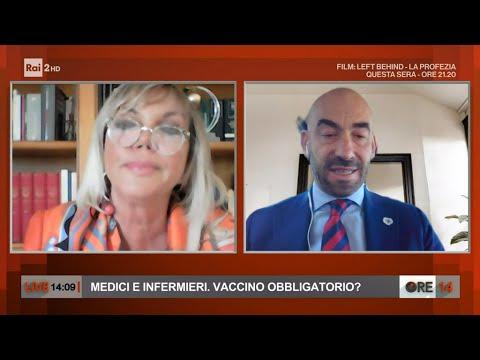 Medici e infermieri, vaccino obbligatorio? - Ore 14 del 15/03/2021