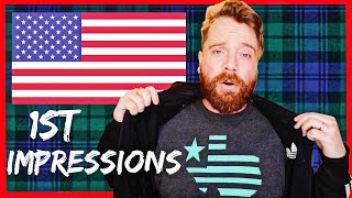 10 Crazy Things a SCOTTISH person noticed about AMERICA