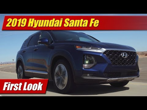 2019 Hyundai Santa Fe: First Look