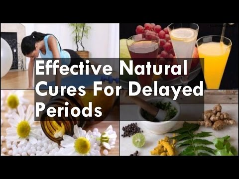 Natural Cures For Delayed Periods