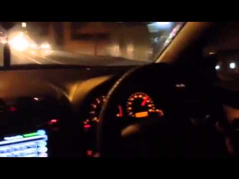 Toyota Axio 155kmph Top Speed at Marine Drive