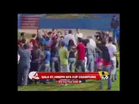 L-akbar żewġ unuri li qatt rebħu l-Qala Saint Joseph FC - GFA Cup 2007/08